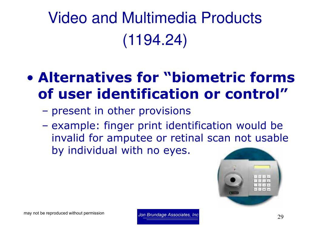 Video and Multimedia Products (1194.24)