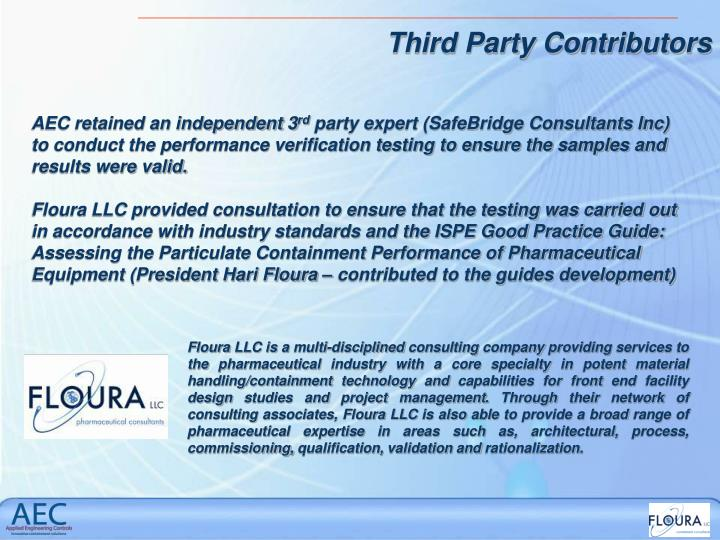 Floura LLC is a multi-disciplined consulting company providing services to the pharmaceutical indust...