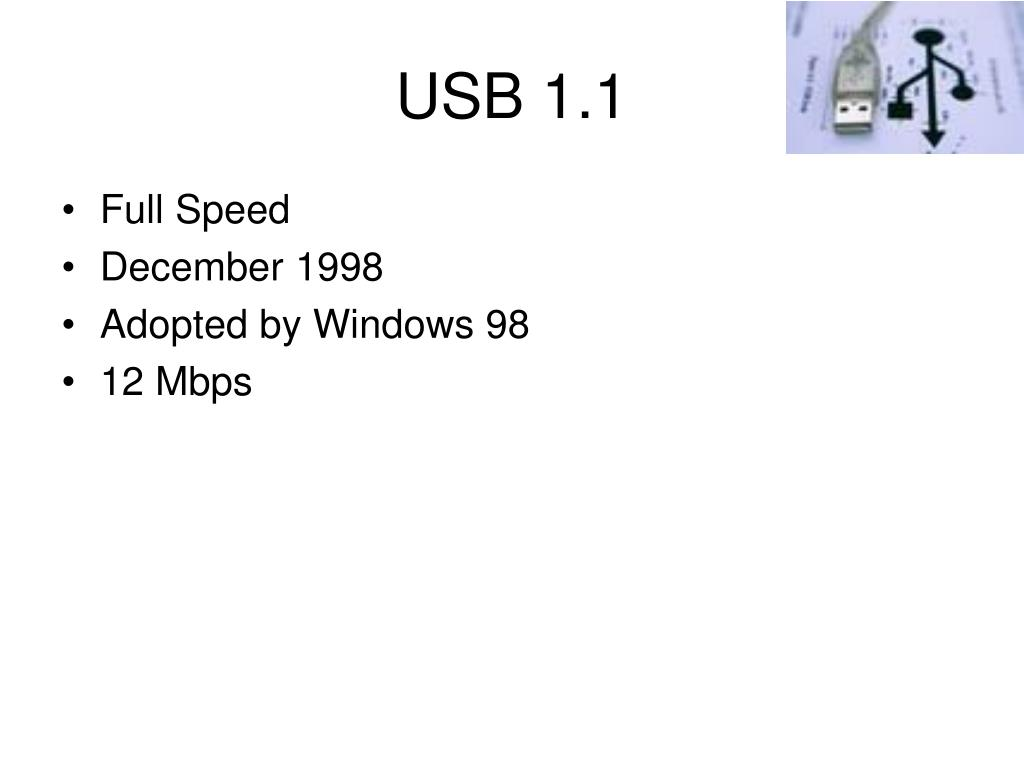USB 1.1