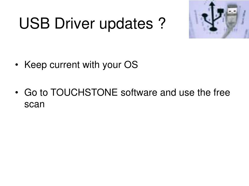 USB Driver updates ?