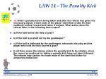 law 14 the penalty kick123