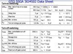 gto 5sga 30j4502 data sheet49