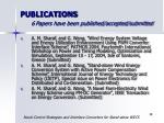 publications 6 papers have been published accepted submitted39