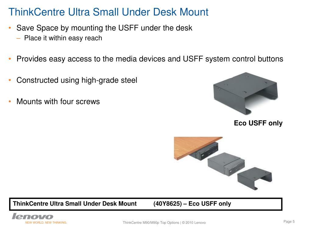 ThinkCentre Ultra Small Under Desk Mount