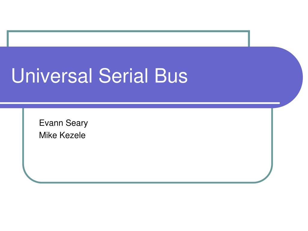universal serial bus l.