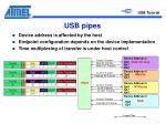 usb pipes