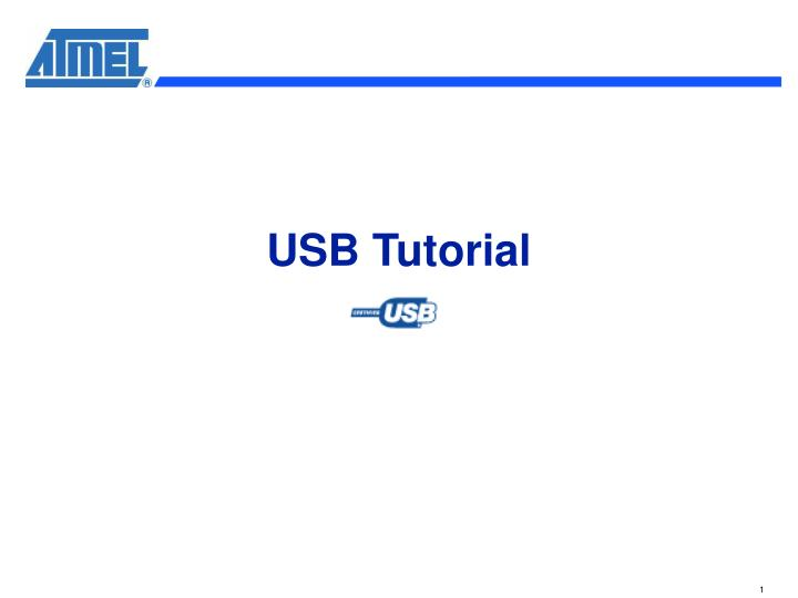 usb tutorial n.