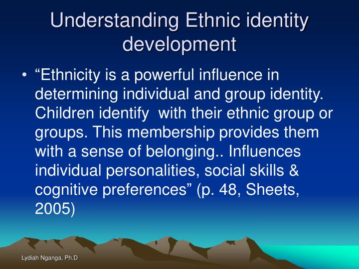 the influences of disney movies on the developing identity of children Teaching young children to resist bias: how bias influences children's keep in mind that developing a healthy identity and understanding of others is a.