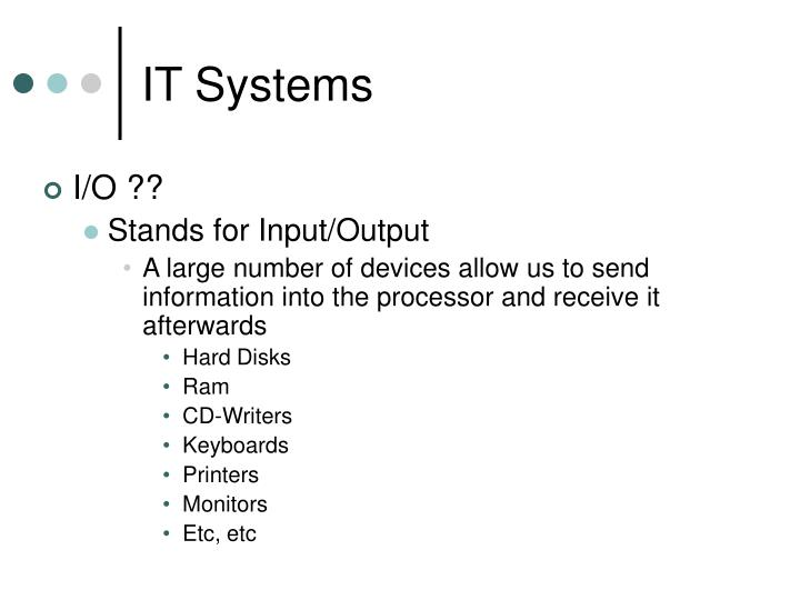 It systems3
