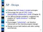 xp design