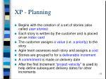 xp planning