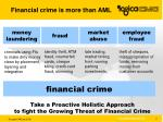 financial crime is more than aml