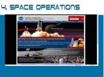 4 space operations
