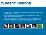 current missions8