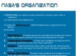 nasa s organization12