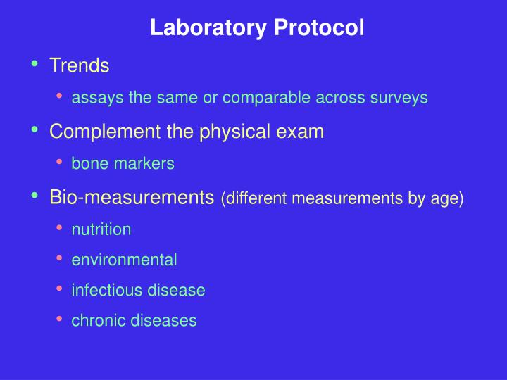 Laboratory Protocol