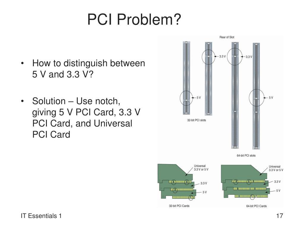 PCI Problem?