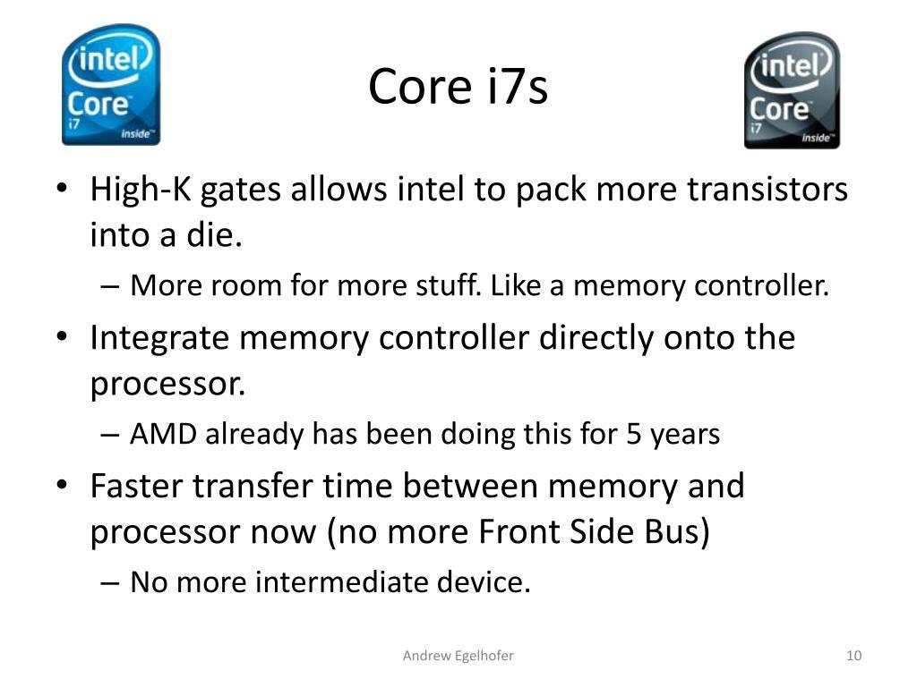 Core i7s