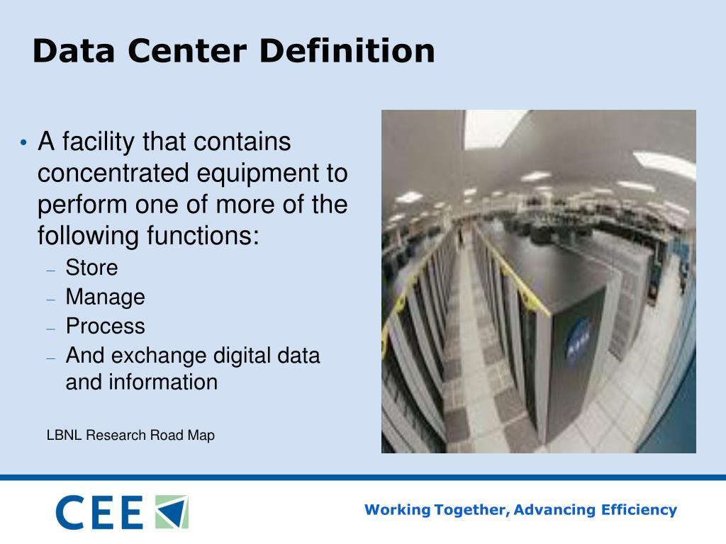 Data Center Definition