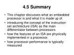 4 5 summary
