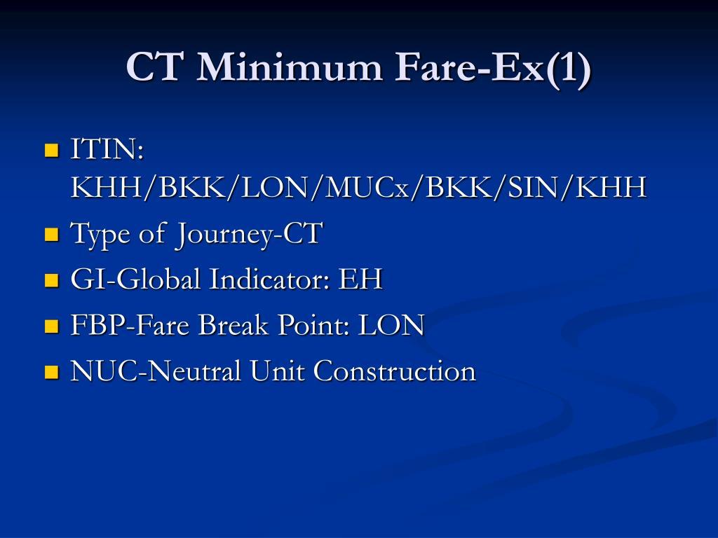 CT Minimum Fare-Ex(1)