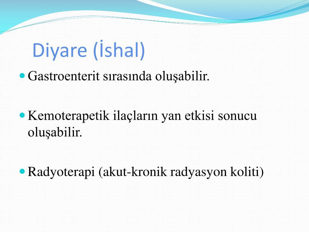 Diyare