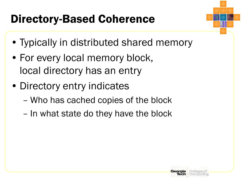 Directory-Based Coherence