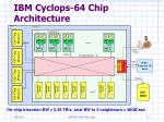 ibm cyclops 64 chip architecture