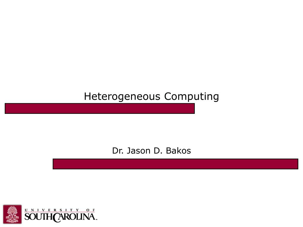 heterogeneous computing l.