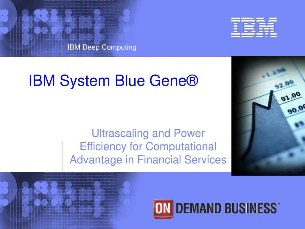 ibm system blue gene l.
