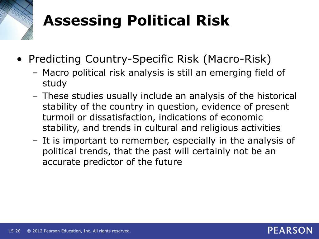Assessing Political Risk