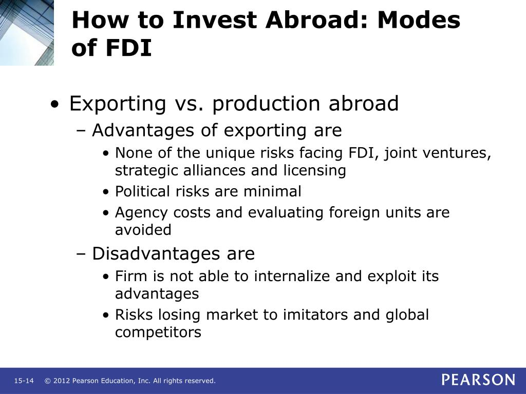 How to Invest Abroad: Modes