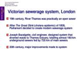 victorian sewerage system london