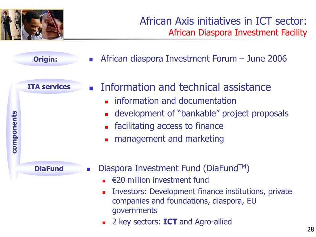African Axis initiatives in ICT sector: