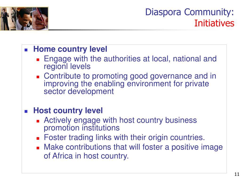 Diaspora Community: