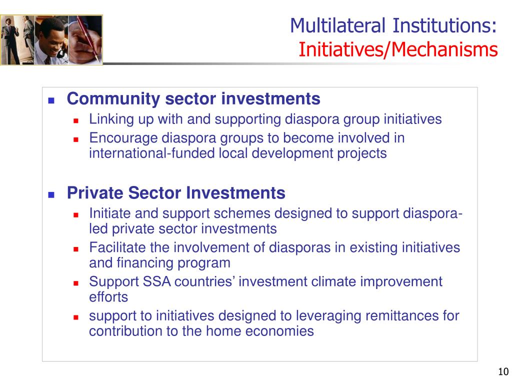Multilateral Institutions:
