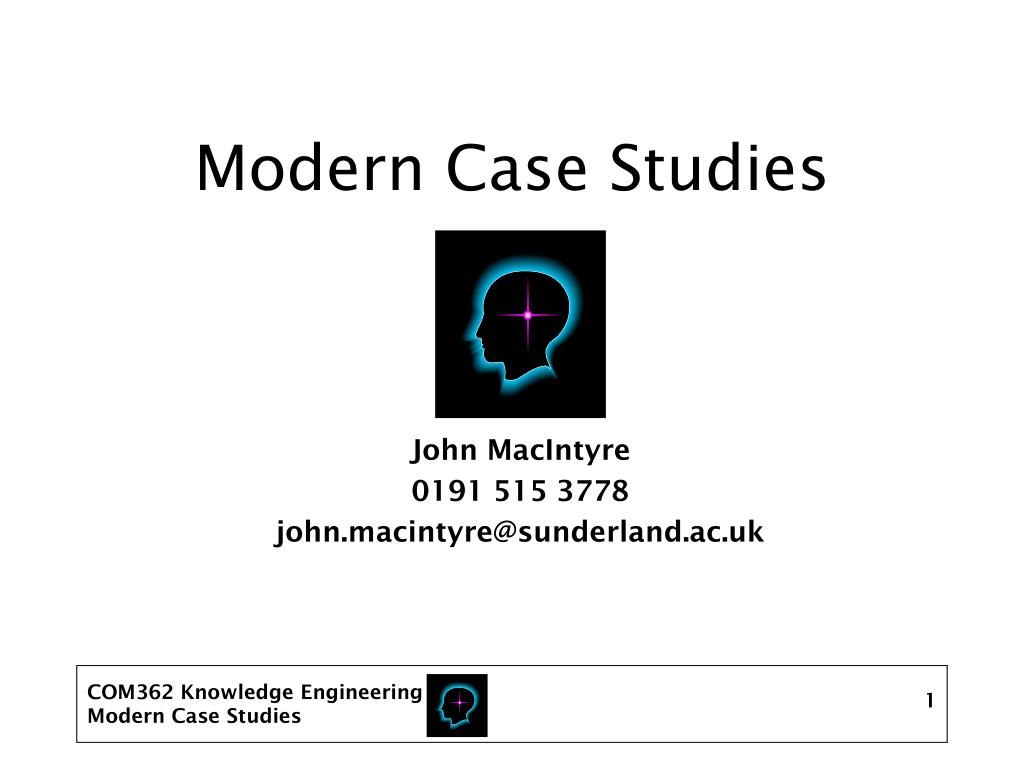 modern case studies l.