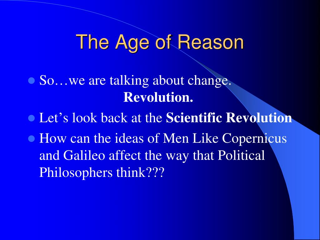 scientific revolution and how it effects