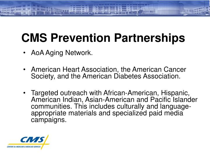 CMS Prevention Partnerships