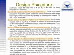 design procedure35