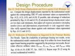 design procedure40
