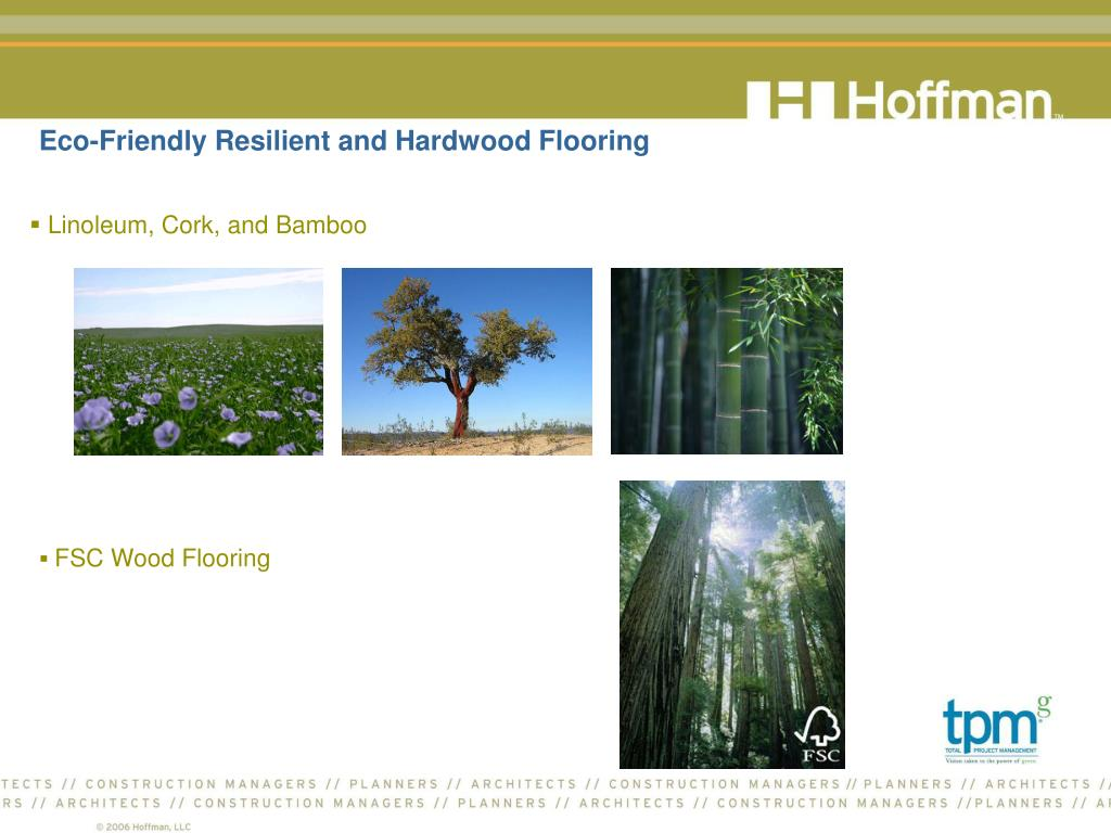 Eco-Friendly Resilient and Hardwood Flooring