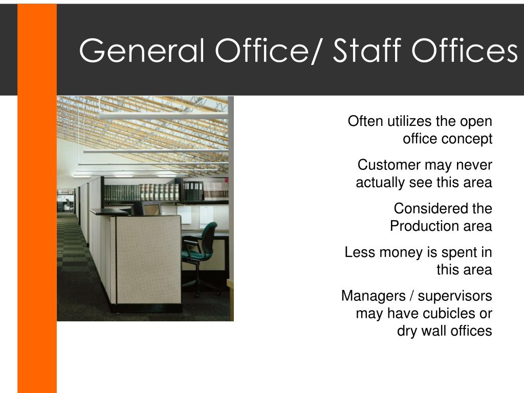 General Office/ Staff Offices