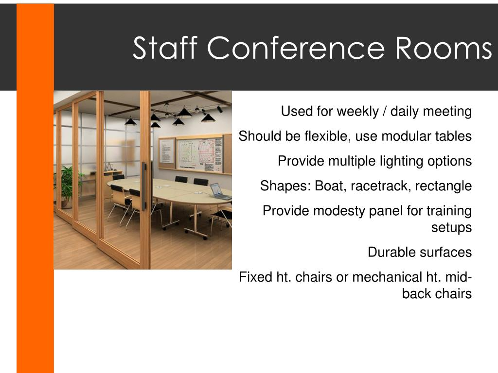 Staff Conference Rooms