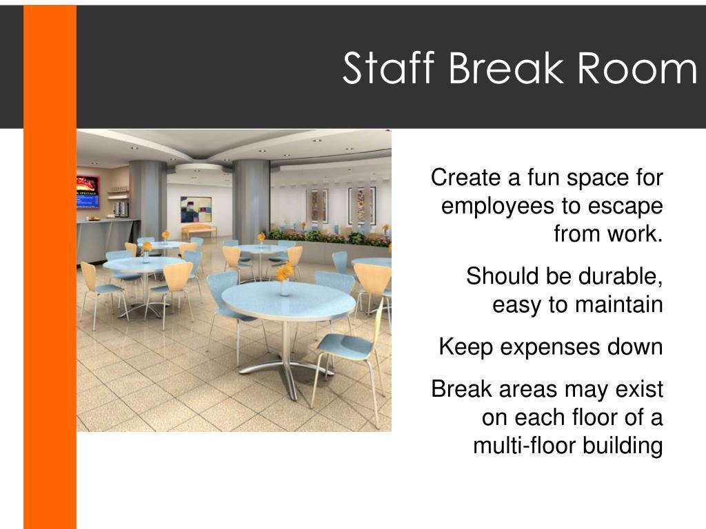 Staff Break Room
