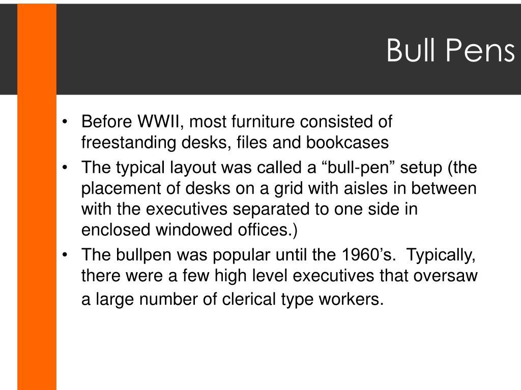 Bull Pens