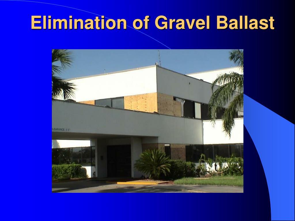 Elimination of Gravel Ballast