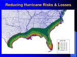 reducing hurricane risks losses