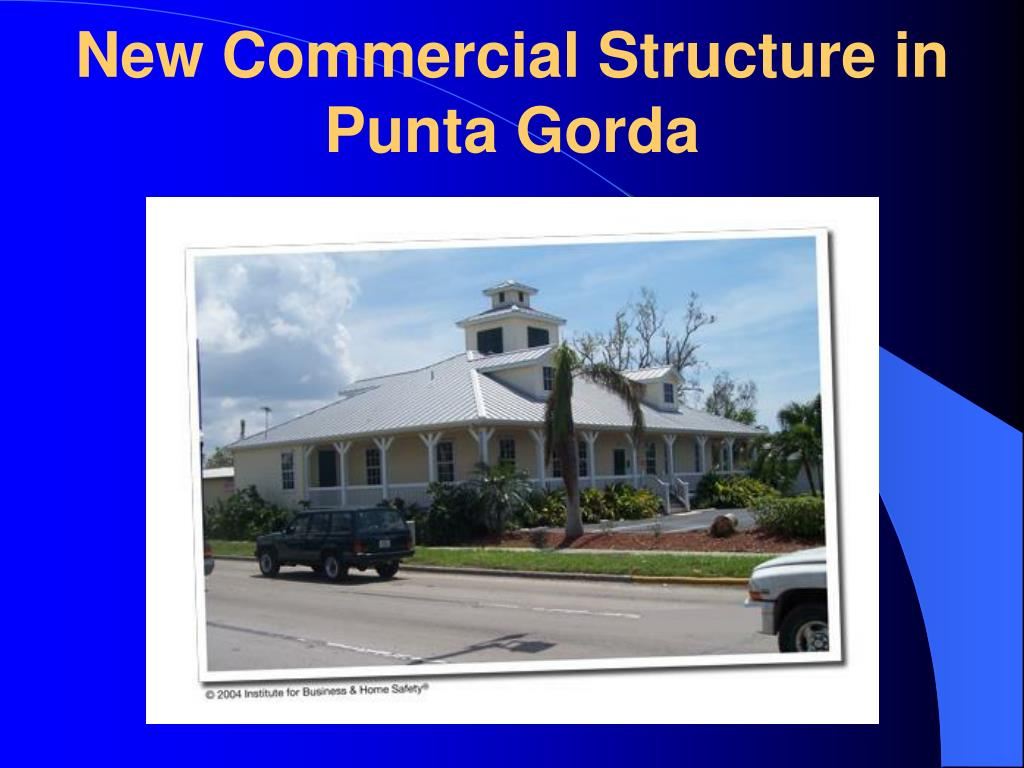 New Commercial Structure in Punta Gorda