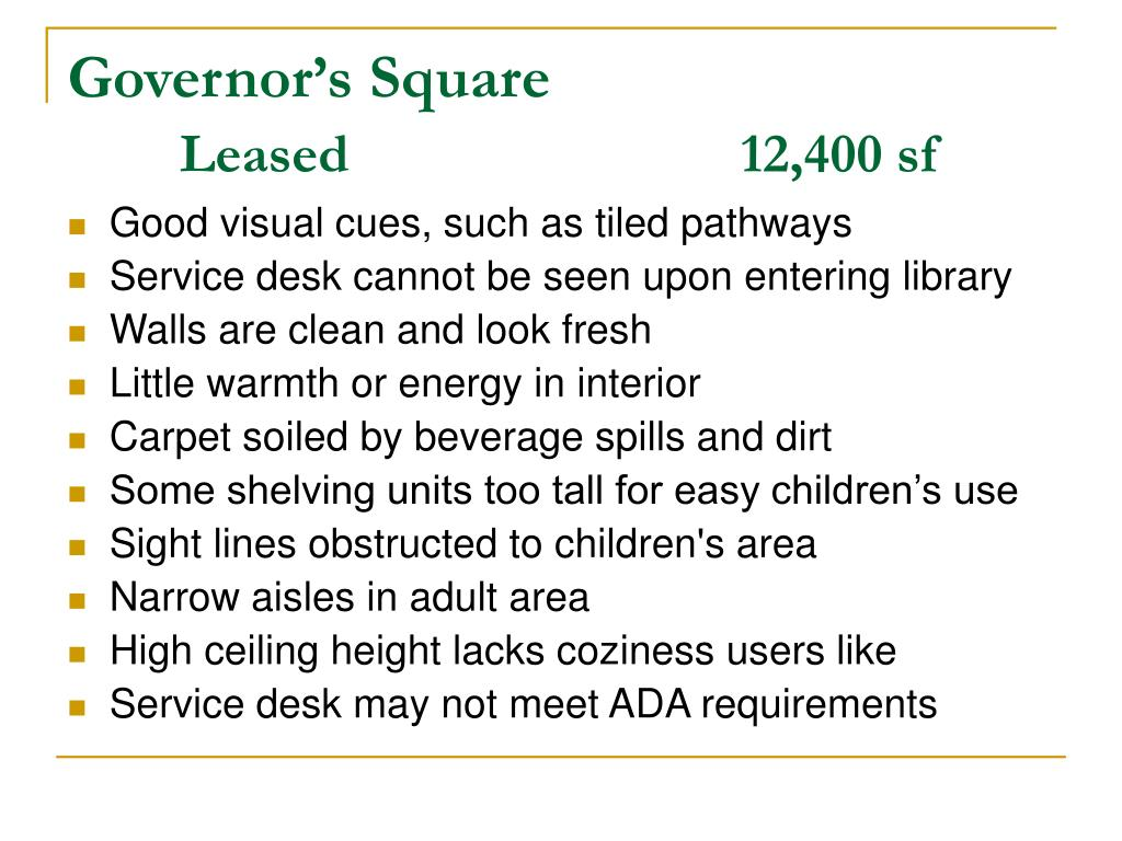 Governor's Square